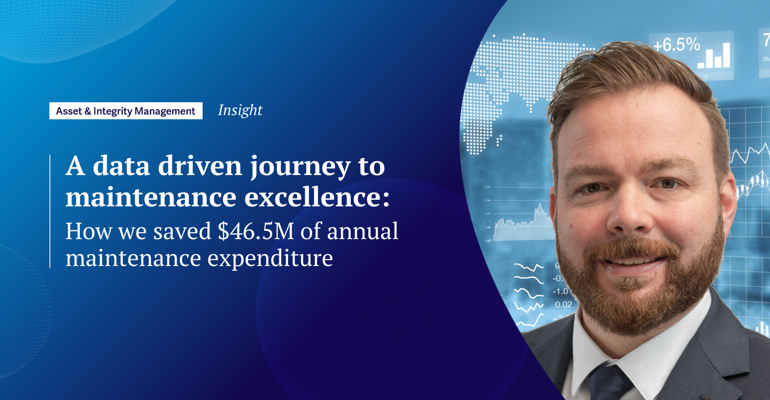 A data driven journey to maintenance excellence: how we saved $46.5M of annual maintenance expenditure