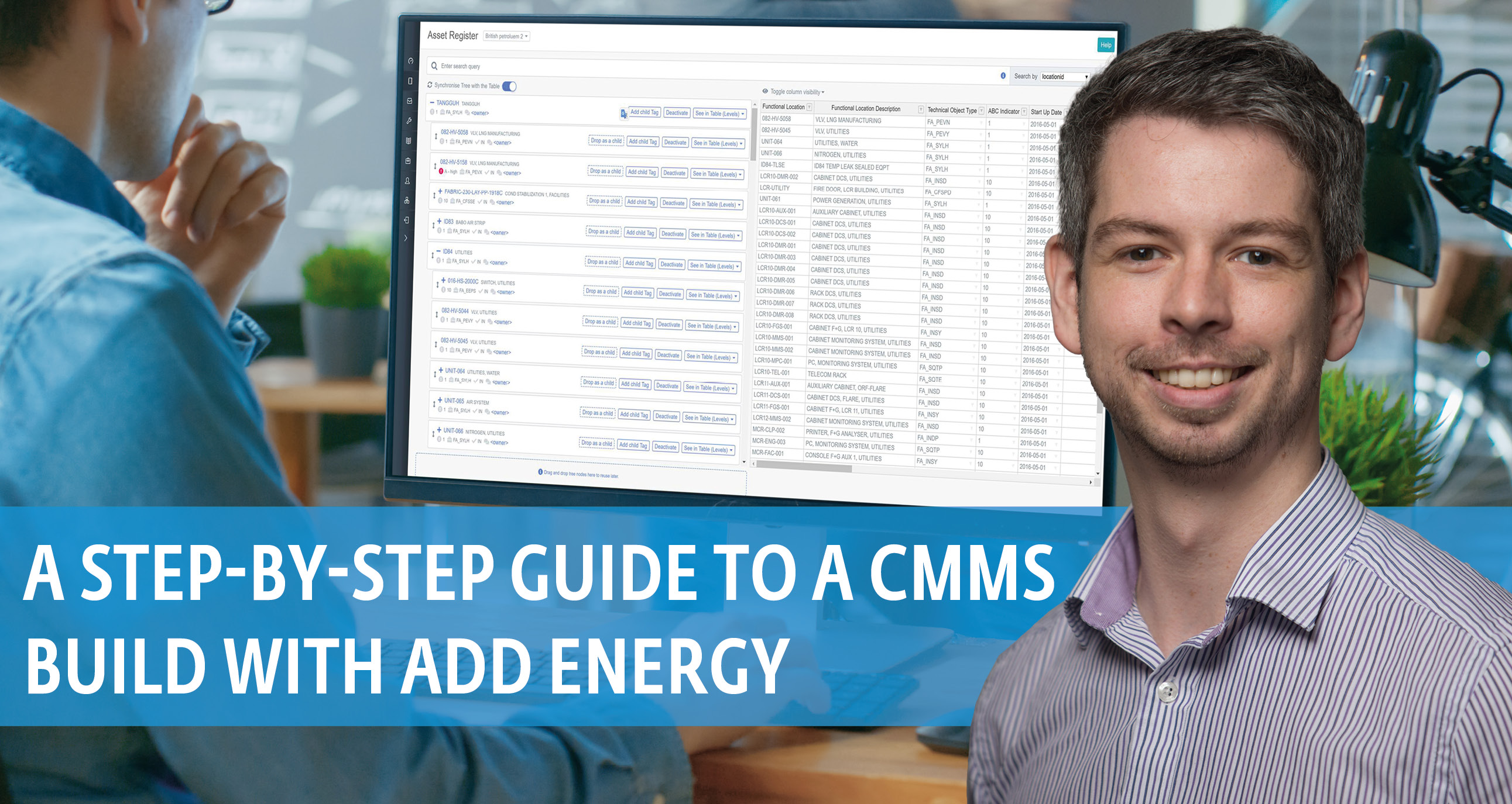 A Step-by-step guide to a CMMS build with Add Energy