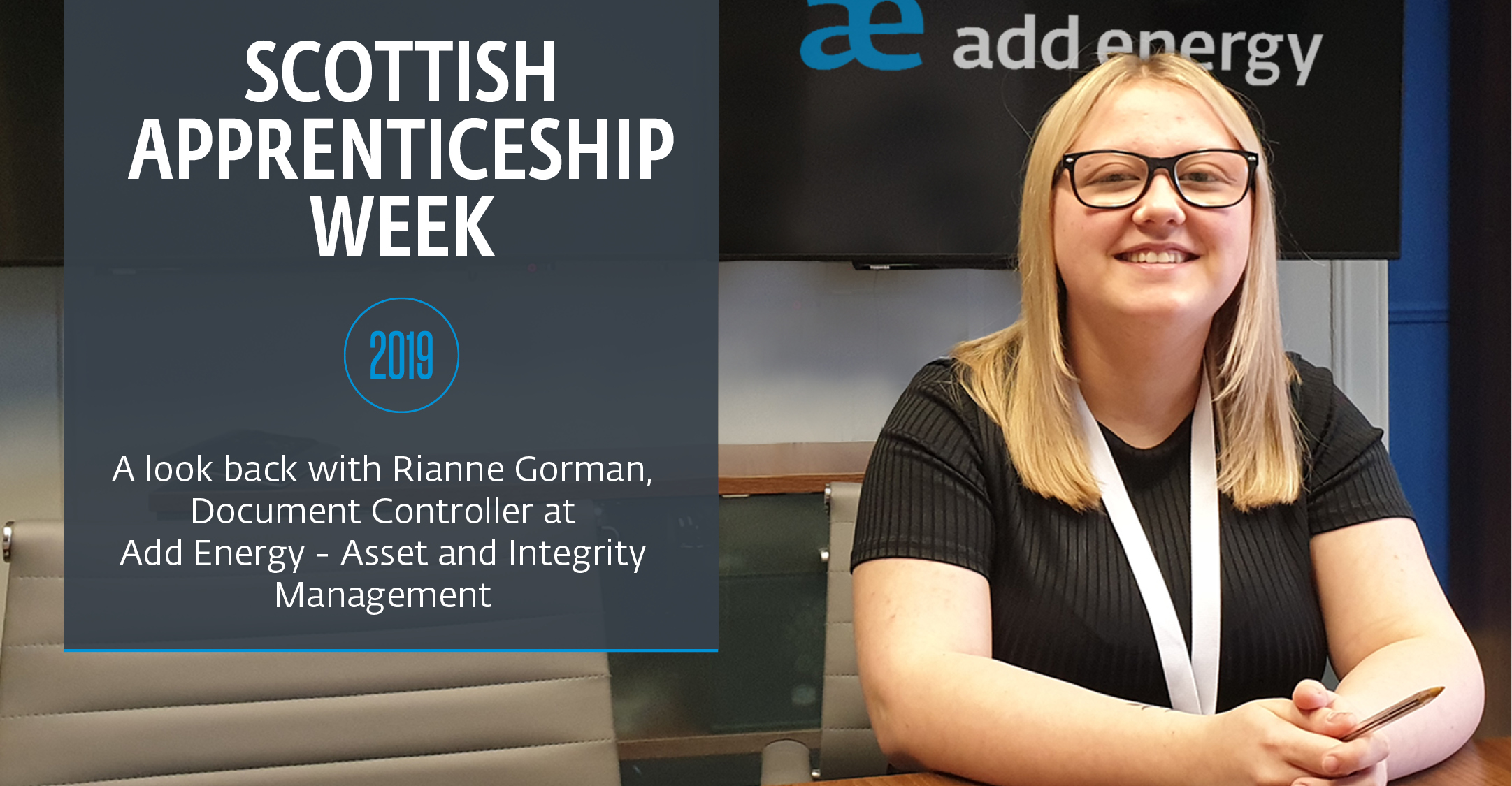 Scottish Apprenticeship Week 2019: a look back with rianne gorman