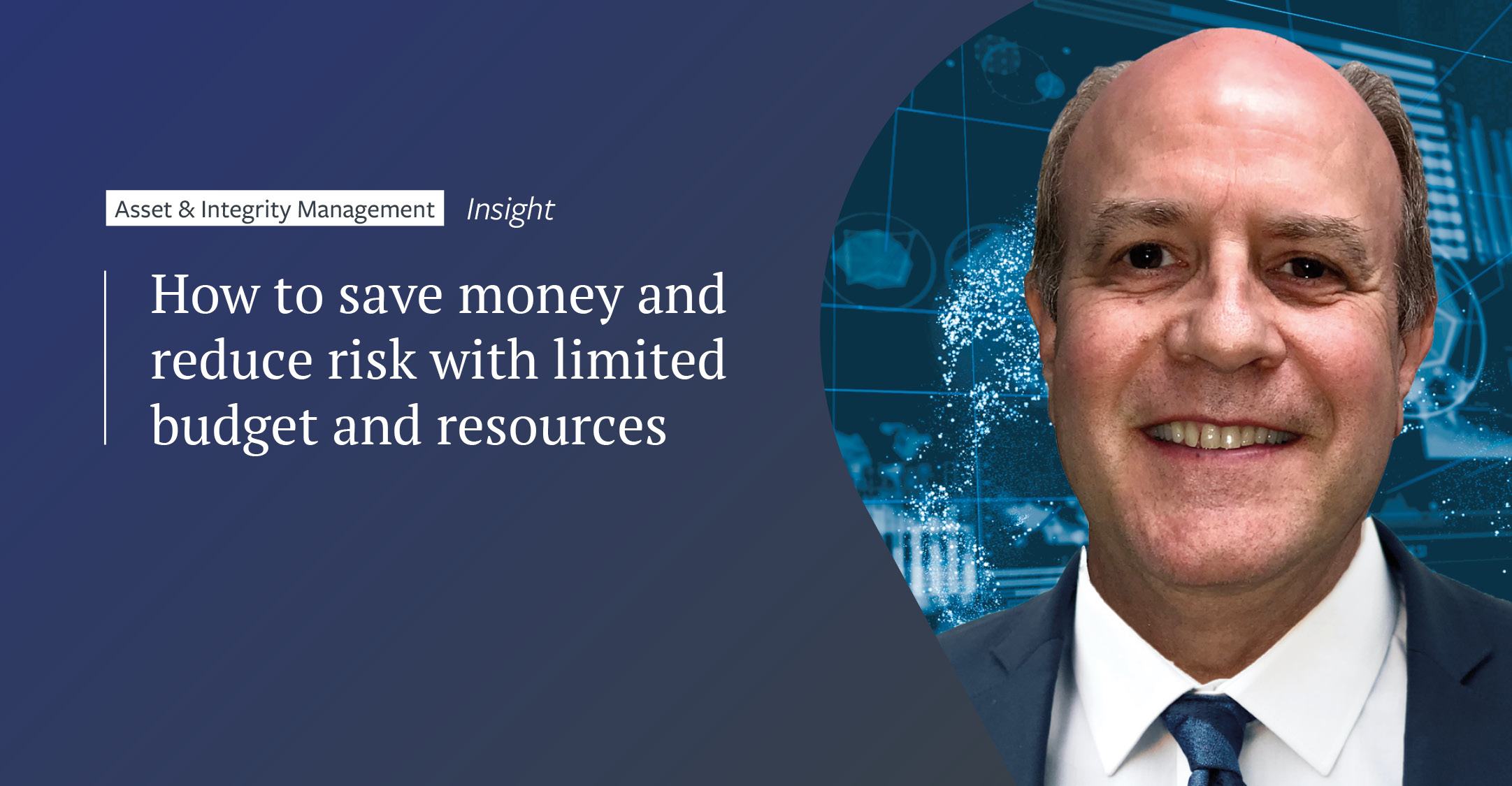 How to save money and reduce risk with limited budget and resources